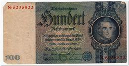 GERMANY,100 REICHSMARK,1935,P.183,VF - 50 Reichsmark