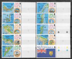 Turks & Caicos N° 553/62 Yvert NEUF ** - Turks And Caicos