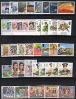 BIG - GRAN BRETAGNA 1986, L'annata Completa Dei Commemorativi ***  MNH (2380A) La Striscia Ripiegata - 1952-.... (Elizabeth II)