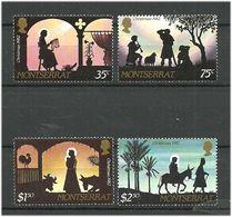 Montserrat 1982 Christmas, Mi 499-502 MNH(**) - Montserrat