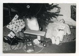 PHOTO ANCIENNE JRD Camion Jouet Transcontinental Express Petite Voiture Auto Sapin De Noël Cadeau Chaussure Chaussures - Objetos