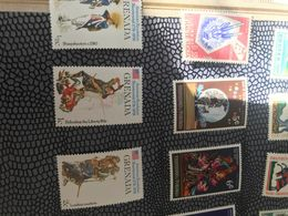 GRENADA VECCHIE UNIFORMI 1 VALORE - Postzegels