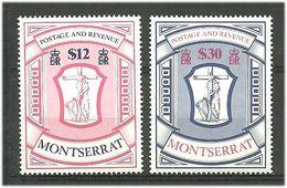 Montserrat 1983 High Values Coat Of Arms, Mi 511-512 MNH(**) - Montserrat