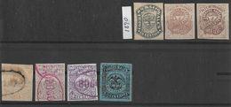 Colombia. 1870-1872 Estados Unidos De Colombia X7 - Colombia
