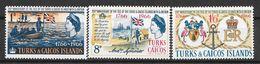 Turks & Caicos N° 193/95 Yvert NEUF * - Turks And Caicos