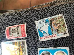 NICARAGUA IL PAPA IN NICARAGUA - Postzegels