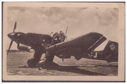 Dt-Reich (007400) Propagandakarte, Sturzkampfbomber Junkers Ju 87, Ungebraucht - Germany