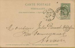 BR-8852   PW  DEURNE - 1893-1907 Armoiries