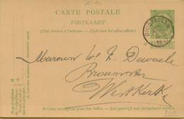 BR-8853     PW  GHISTELLES - 1893-1907 Armoiries
