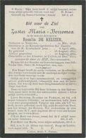 BP De Keyzer Rosalia (zuster Maria-Borromea) (Nukerke 1838 - Kallo 1913) - Colecciones