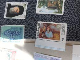 NICARAGUA ARTE BORDO FOGLIO 1 VALORE - Postzegels