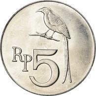 Monnaie, Indonésie, 5 Rupiah, 1970, SPL+, Aluminium, KM:22 - Indonesia
