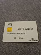 CARTE MONEO GUICHET CAISSE D'EPARGNE - France
