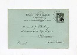 !!! ENTIER POSTAL DE DIEGO SUAREZ DE 1894 POUR MEAUX - Diégo-Suarez (1890-1898)