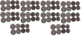 Ukraine - 10 Pcs X Set 4 Coins 1 2 5 10 Hryvni 2019 - 2020 UNC Lemberg-Zp - Oekraïne