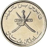 Monnaie, Oman, Qaboos, 25 Baisa, 2013, British Royal Mint, SPL, Nickel Clad - Oman