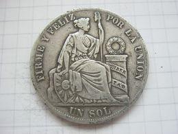 Peru , 1 Sol 1887 - Peru