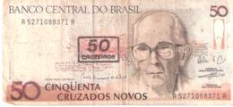 Brasil. 50 Cruzados Novos. - Brazil