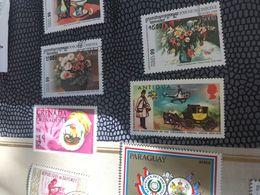 ANTIGUA MEZZI DI TRASPORTO 1 VALORE - Postzegels