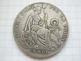 Peru , 1 Sol 1888 - Peru