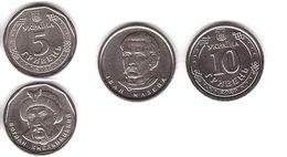 Ukraine - Set 2 Coins - 5 + 10 Hryven 2019 - 2020 UNC Lemberg-Zp - Oekraïne