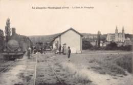 61 - ORNE - LA CHAPELLE MONTLIGEON - 10258 - Gare De Tramways - Défaut - Sonstige Gemeinden