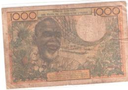 1000-FRANCS-BANQUE-CENTRALE - West-Afrikaanse Staten
