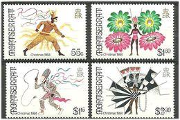 Montserrat 1984 Christmas: Carnival Costumes Mi 561-564  MNH(**) - Montserrat