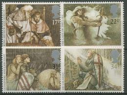 Großbritannien 1985 Britische Sagen: König Artus, Excalibur 1039/42 Postfrisch - 1952-.... (Elizabeth II)