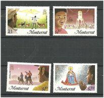 Montserrat 1985 Weihnachten Mi 605-608  MNH(**) - Montserrat