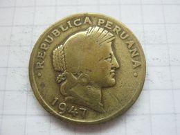 Peru , 20 Centavos 1947 - Peru