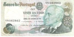 Portugal 20 Escudos 1978 - Portugal