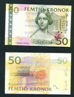 SWEDEN  - 2011 50 Kronor UNC Banknote - Zweden
