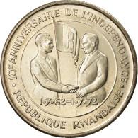 Monnaie, Rwanda, 200 Francs, 1972, SUP+, Argent, KM:11 - Rwanda