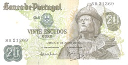 Portugal 20 Escudos 1971 - Portugal