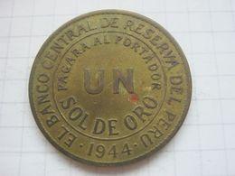 Peru , 1 Sol 1944 - Peru