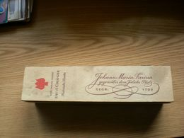 Rote Farina Marke EAU Cologne Historische Flasche Johann Maria Farina Gegenuber Dem Julichs Platz Gegr 1709 - Parfum & Kosmetik