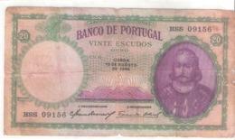 Portugal 20 ESCUDOS 1946 - Portugal