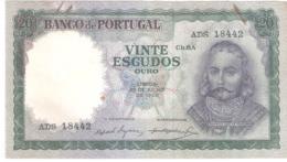 Portugal 20 ESCUDOS 1960 - Portugal