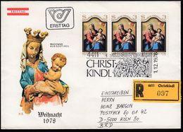 Austria CHRISTKINDL 1.12.1978 / Christmas Christianity / Cancel No 5 - Christianity