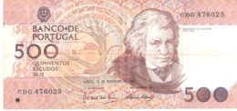 Portugal 500 ESCUDOS 1992 - Portugal