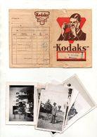 """Pochette """"Kodaks"""" Photographie R. Cordon Brissac Avec 11 Petites Photographies Diverses - Format : 9x12.5 Cm Pochette - Fotografía"""