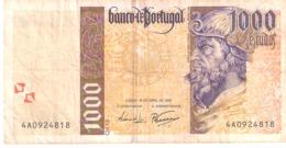 Portugal 1000 ESCUDOS 1996 - Portugal