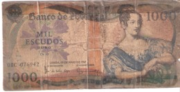 Portugal 1000 ESCUDOS 1967 - Portugal