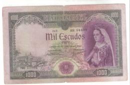 Portugal 1000 ESCUDOS 1956 - Portugal