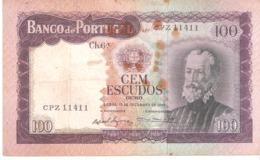 Portugal 100 ESCUDOS 1961 - Portugal