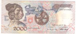 Portugal 2000 ESCUDOS 1992 - Portugal