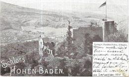Allemagne CPA Schloss Hohen Baden Verlag Faller - Limburg