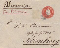 Argentina - Postal Stationery - Santa-Fe To Germany - 1902  (50615) - Ganzsachen