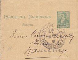 Argentina - Postal Stationery (piece) - 1907  (50616) - Ganzsachen